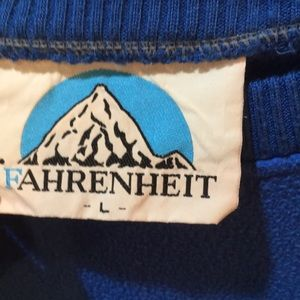 Shirts - Vintage 80s 90s fleece crewneck sweatshirt L